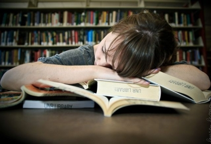 sleeping-in-the-library